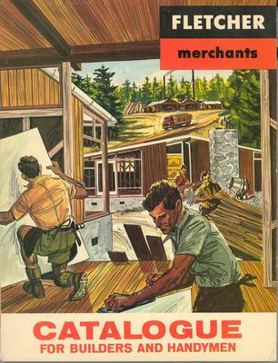 Fletcher Merchants Ltd: 1966 catalogue for builders and handymen (2)