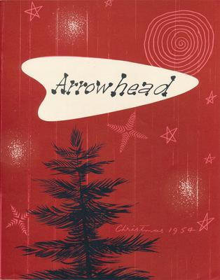 "Fletcher Holdings Ltd: Christmas1954 ""Arrowhead"" company newsletter"