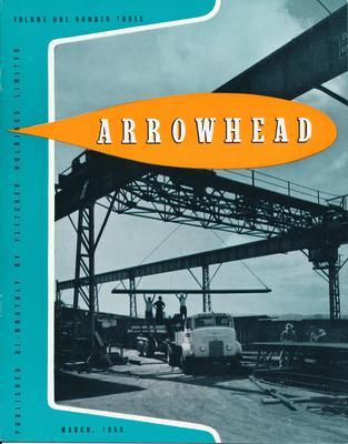 "Fletcher Holdings Ltd: Mar1955 ""Arrowhead"" company newsletter"