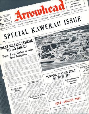 "Fletcher Holdings Ltd: Jul-Aug1955 ""Arrowhead"" company newsletter"