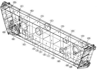 Fletcher Construction Co Ltd: 2000 Manapouri - West Arm tunnel drawing of bulkhead