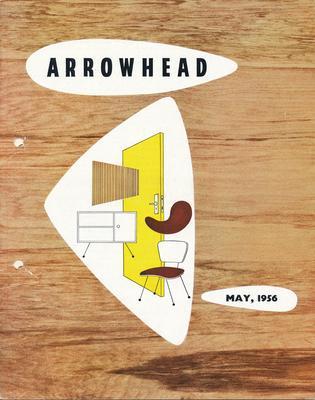 "Fletcher Holdings Ltd: May1956 ""Arrowhead"" company newsletter"