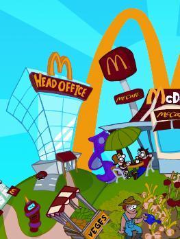 Fletcher Construction Co Ltd: 2000 Christchurch - McDonalds poster
