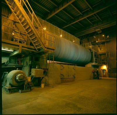 Golden Bay Cement Co Ltd: 1994 Portland - No.6 cement mill giant tumbler