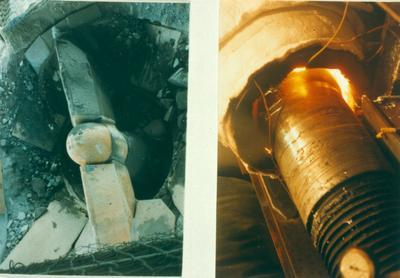 Winstone Ltd: 1985 Lunn Ave Quarry (LAQ), Mt Wellington, Auckland - inside Primary Crusher Plant