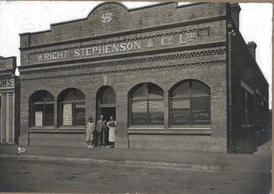 Wright Stephenson & Co Ltd - Invercargill Branch, Southland: 1925 Winton Agency