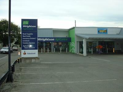 Wrightson - Invercargill Agricentre, Southland: 1995 store interior and exterior views (CD of images)