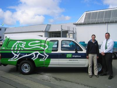 Wrightson Ltd - Invercargill Branch, Southland: 2004 trucks, rural supplies, trucks and staff