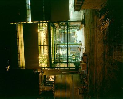 Tasman Pulp & Paper Co Ltd, Kawerau: 1989 the mill at night; 1989; Photograph