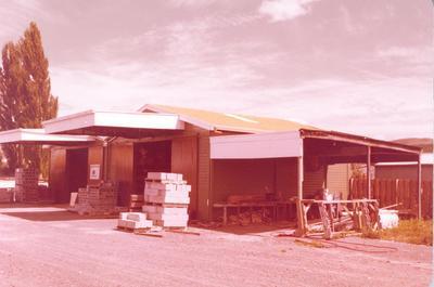 Fletcher Merchants Ltd: 1980 Ellis & Burnand Ltd - Te Kuiti, Waikato - Store