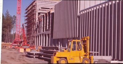 "Winstone's Head Office, ""Eden House"", Khyber Pass Rd, Auckland: 1977 under construction"