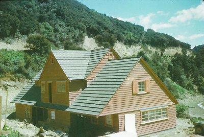 Winstone Ltd - Blenheim Branch, Marlborough: 1968 house at Kenepuru Sound (materials supplied by Winstone Ltd)