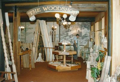 An Odlins workshop, Winstone Trading Profile publication