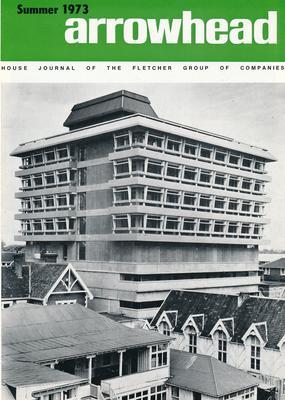 "Fletcher Holdings Ltd: Summer1973 ""Arrowhead"" company newsletter"