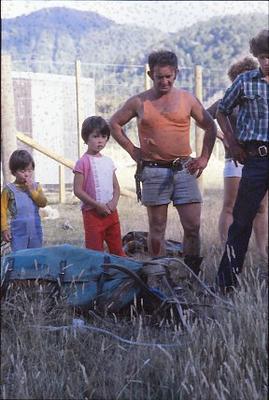 Fletcher Forests Ltd - Wainui Deer Farm and Tauhara Opossum Farming: 1979 Wainui Block deer farm - children