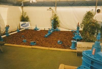 Hume Industries (NZ) Ltd - Hume Pipe Co: 1991 display of Hume Keystone Valve products