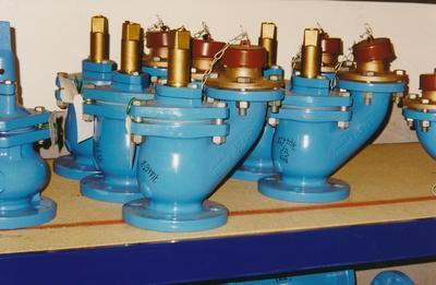 Hume Industries (NZ) Ltd - Hume Pipe Co: 1986 valves
