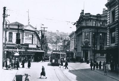 Winstone Ltd - R & E Tingey & Co Ltd: 1963 premises, Manners St, Wellington