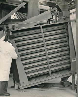 Wright, Stephenson & Co Ltd: 1965 Machinery in seed plant?