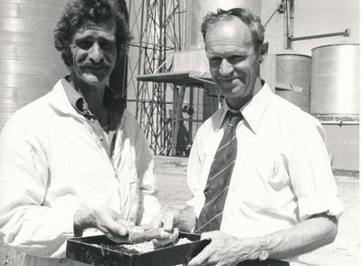 Wrightson NMA Ltd: 1978 Hamilton, Waikato - grainstore - Lloyd Wackrow; Derek Philips;