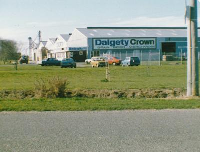 Dalgety Crown Ltd - New Zealand Premises: 1986 Dunedin, Otago - includes shop, wool and fur stores, grains stores, as well as Wrightson NMA premises