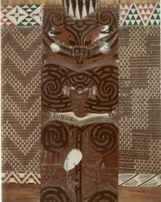 Fletcher Timber Co Ltd - Ruatahuna Mill, Bay of Plenty Region: 1970 Te Whai-a-te-Motu Carving, Ruatahuna