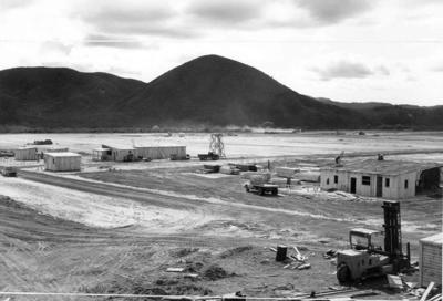 Tasman Pulp & Paper Co Ltd: 1953 Kawerau mill site prior to construction