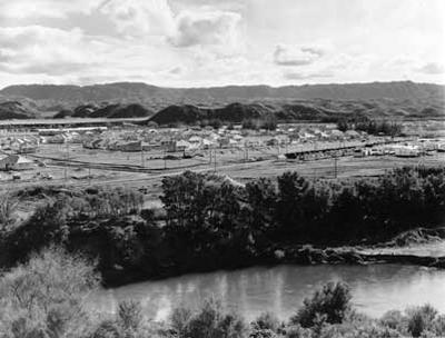 Tasman Pulp & Paper Co Ltd: 1954 View of housing development at Kawerau