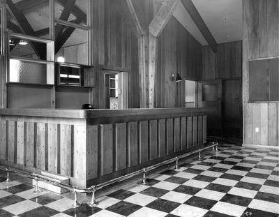 Fletcher Construction Co Ltd - The Hermitage, Aoraki/Mt Cook: 1958 bar area