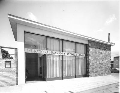 Fletcher Construction Co Ltd - Bank buildings, Auckland: 1961 National Bank, Avondale Branch