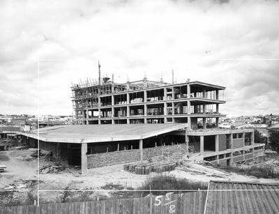 Fletcher Construction Co Ltd - NAC Air Centre, Graham/Victoria Sts, Auckland: 1962 during construction