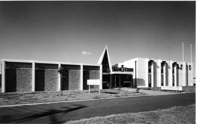 Fletcher Construction Co Ltd - British Sailors' Society Seafarers' Memorial Centre, Auckland: 1965 exterior