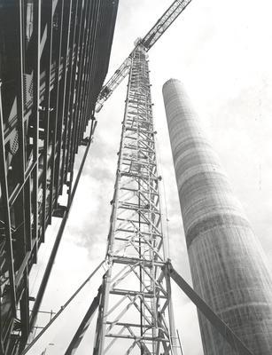 Fletcher Construction Co Ltd - New Plymouth Power Project, Taranaki: 1973 under construction