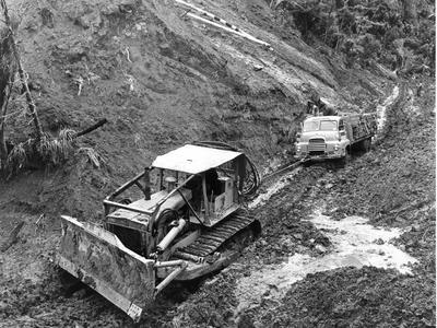John Lysaght (New Zealand) Ltd: 1967 Shipment of Custom Ore ready for new hospital, Kabul, Afghanistan ex Auckland plant (3 items)