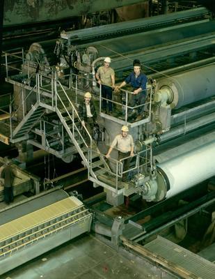 Tasman Pulp & Paper Co Ltd, Kawerau: 1988 No.2 paper machine