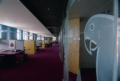 Fletcher Construction Co Ltd: 1997 Interior created for Phillip Fox by the Wellington Interiors team