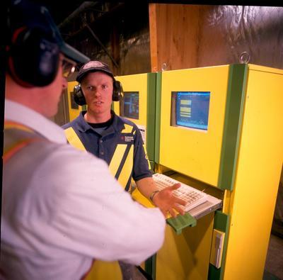 Fletcher Challenge Forests Ltd: 1997 Kawerau Remanufacturing Plant - Computer operating