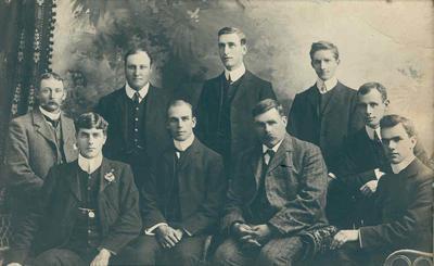 Wright Stephenson & Co Ltd - Gore Branch, Southland: 1928 staff