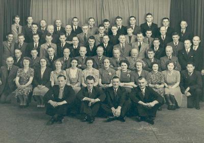 Wright Stephenson & Co Ltd - Gore Branch, Southland: 1948 staff