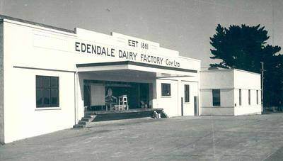 Wright Stephenson & Co Ltd - Gore Branch, Southland: 1961 Edendale Sub-Agency