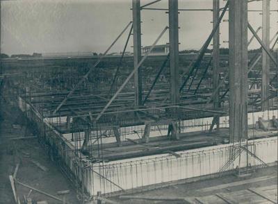 Wright Stephenson & Co Ltd - Invercargill Branch, Southland: 1918 store under construction