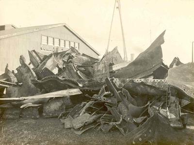 Fletcher Holdings Ltd - Stevenson & Cook Engineering Ltd: 1930 Scrap metal (probably from the vessel Rona)