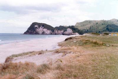 Whiritoa Beach, Coromandel Peninsula; 1978; Photograph