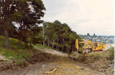 Totara Heights subdivision, Manuwera, Auckland; Nov 1976; Photograph