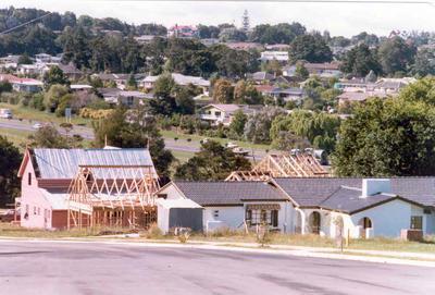 Totara Heights subdivision, Manuwera, Auckland; Dec 1978; Photograph