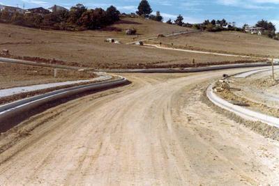 Broadridge subdivision, East Coast Bays, Auckland; Nov 1976; Photograph
