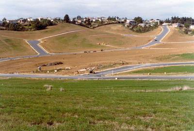 Broadridge subdivision, East Coast Bays, Auckland; May 1977; Photograph