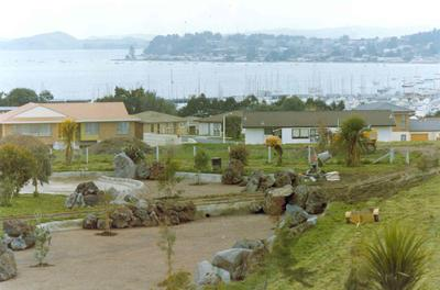 The Heights subdivision, Half Moon Bay, Auckland - stage two; Circa 1973; Photograph