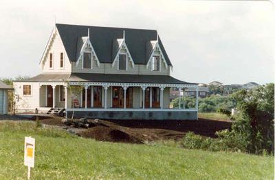 The Heights subdivision, Half Moon Bay, Auckland - stage six; Jan 1980; Photograph
