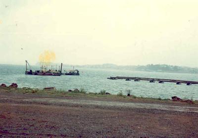 Half Moon Bay Marina, Auckland: Dec1969 early stage of development; Dec 1969; Photograph